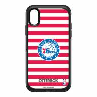 Philadelphia 76ers OtterBox iPhone XR Symmetry Stripes Case