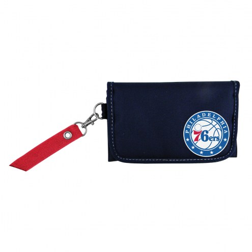 Philadelphia 76ers Ribbon Organizer Wallet