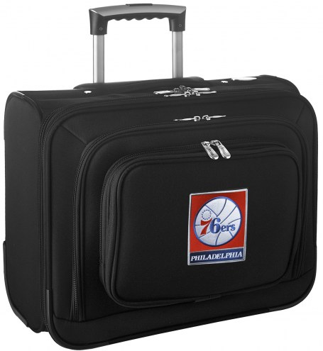 Philadelphia 76ers Rolling Laptop Overnighter Bag