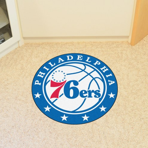 Philadelphia 76ers Rounded Mat