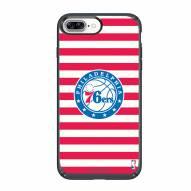 Philadelphia 76ers Speck iPhone 8 Plus/7 Plus Presidio Stripes Case