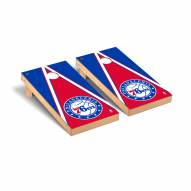 Philadelphia 76ers Triangle Cornhole Game Set