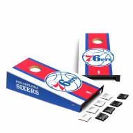 Philadelphia 76ers Mini Cornhole Set