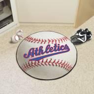 Philadelphia Athletics Baseball Rug