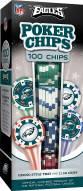 Philadelphia Eagles 100 Poker Chips