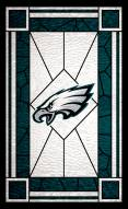 """Philadelphia Eagles 11"""" x 19"""" Stained Glass Sign"""