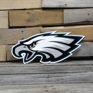 "Philadelphia Eagles 12"" Steel Logo Sign"
