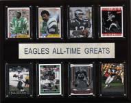 "Philadelphia Eagles 12"" x 15"" All-Time Greats Plaque"