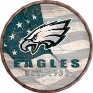 "Philadelphia Eagles 16"" Flag Barrel Top"