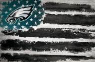 "Philadelphia Eagles 17"" x 26"" Flag Sign"