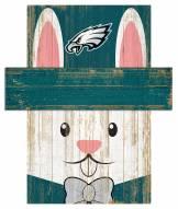 "Philadelphia Eagles 19"" x 16"" Easter Bunny Head"