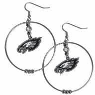 """Philadelphia Eagles 2"""" Hoop Earrings"""