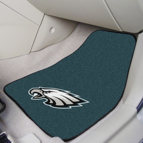 Philadelphia Eagles 2-Piece Carpet Car Mats