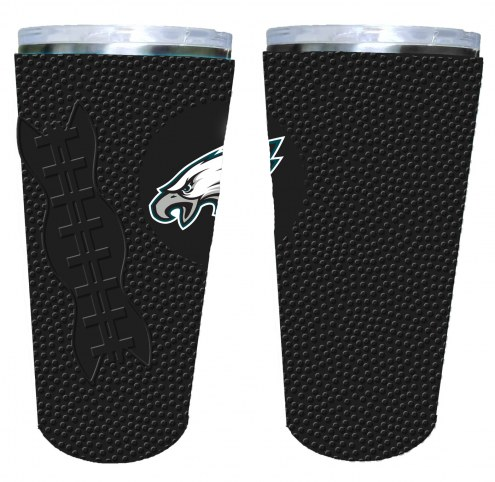 Philadelphia Eagles 20 oz. Stainless Steel Tumbler with Silicone Wrap