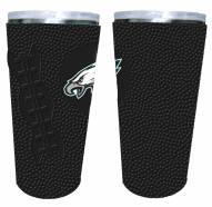 Philadelphia Eagles 20 oz. Stainless Steel Tumbler with Silicone Wrap