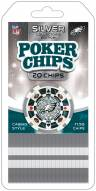 Philadelphia Eagles 20 Piece Poker Chips Set