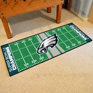 Philadelphia Eagles 2018 Super Bowl LII Champions Football Field Runner Rug