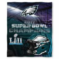 Philadelphia Eagles Super Bowl LII Champions Silk Touch Blanket