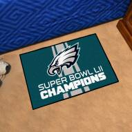 Philadelphia Eagles 2018 Super Bowl LII Champions Starter Rug
