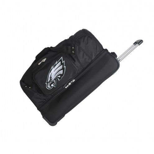 """Philadelphia Eagles 27"""" Drop Bottom Wheeled Duffle Bag"""