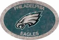 "Philadelphia Eagles 46"" Team Color Oval Sign"