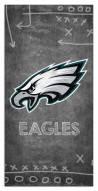 "Philadelphia Eagles 6"" x 12"" Chalk Playbook Sign"