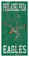 "Philadelphia Eagles 6"" x 12"" Heritage Logo Sign"