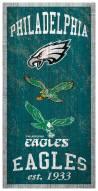 "Philadelphia Eagles 6"" x 12"" Heritage Sign"
