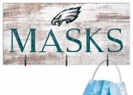 """Philadelphia Eagles 6"""" x 12"""" Mask Holder"""