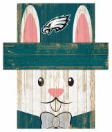 "Philadelphia Eagles 6"" x 5"" Easter Bunny Head"