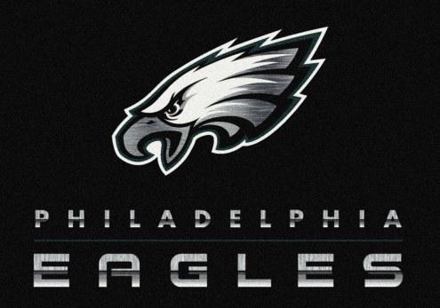 Philadelphia Eagles 8' x 11' NFL Chrome Area Rug