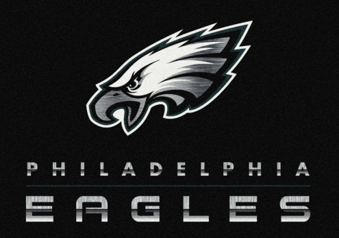 Philadelphia Eagles 8' x 11' NFL Chrome Area Rug
