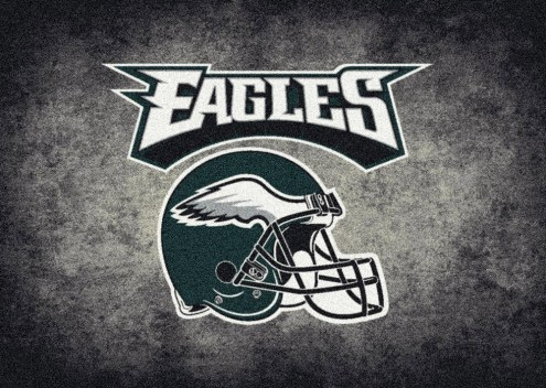 Philadelphia Eagles 8' x 11' NFL Distressed Area Rug