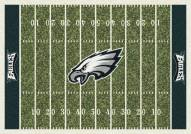 Philadelphia Eagles 8' x 11' NFL Home Field Area Rug