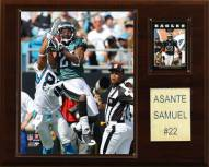 "Philadelphia Eagles Asante Samuel 12 x 15"" Player Plaque"