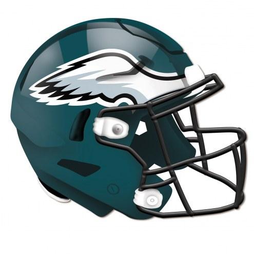 Philadelphia Eagles Authentic Helmet Cutout Sign