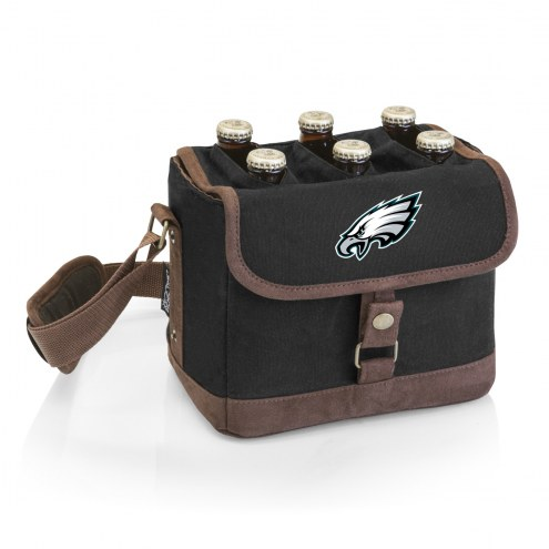 Philadelphia Eagles Beer Caddy Cooler Tote with Opener