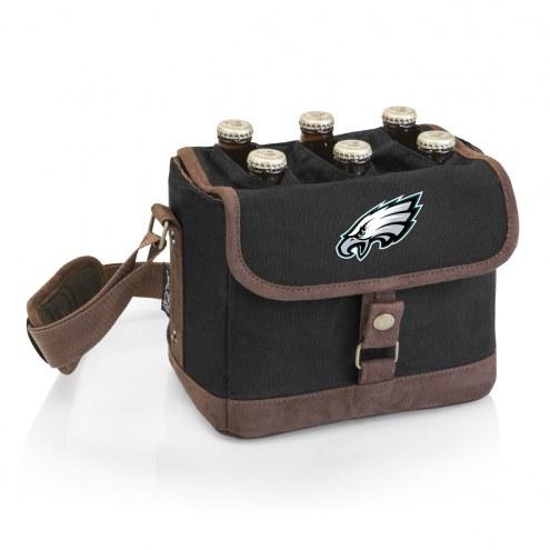 Philadelphia Eagles Beer Caddy Cooler Tote with Opener