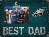 Philadelphia Eagles Best Dad Clip Frame