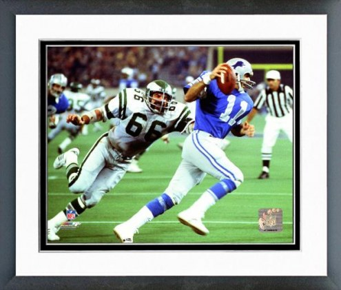 Philadelphia Eagles Bill Bergey 1977 Action Framed Photo
