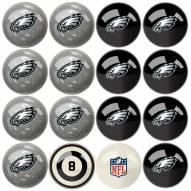 Philadelphia Eagles Billiard Balls