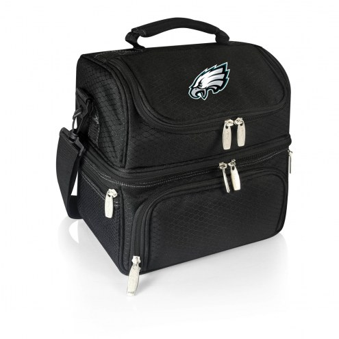 Philadelphia Eagles Black Pranzo Insulated Lunch Box