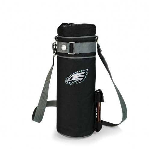 Philadelphia Eagles Black Wine Sack