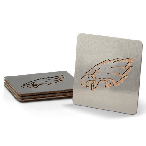 Philadelphia Eagles Boasters Stainless Steel Coasters - Set of 4