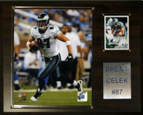 "Philadelphia Eagles Brent Celek 12 x 15"" Player Plaque"