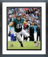 Philadelphia Eagles Brent Celek Action Framed Photo
