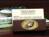 Philadelphia Eagles Business Card Holder It