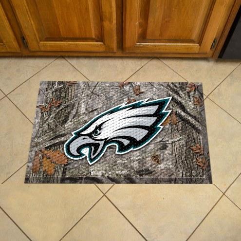 Philadelphia Eagles Camo Scraper Door Mat