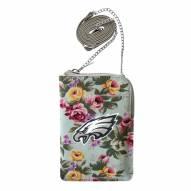 Philadelphia Eagles Canvas Floral Smart Purse