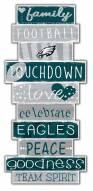 Philadelphia Eagles Celebrations Stack Sign